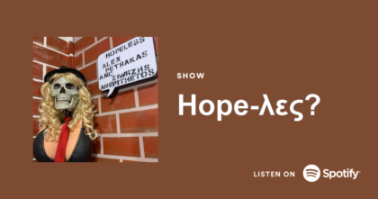 hope-λες? podcast spotify card